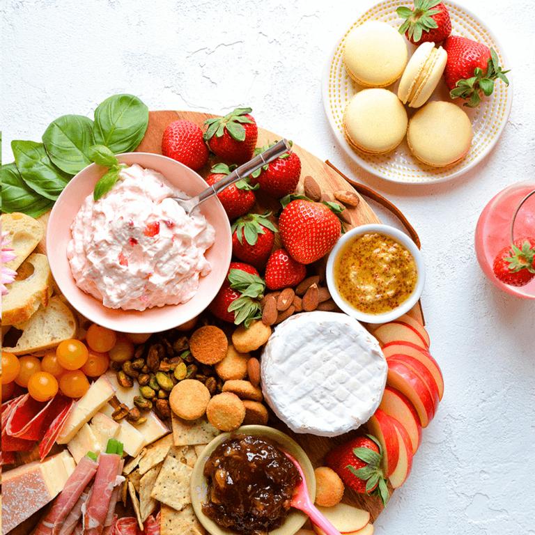 Strawberry Charcuterie Board