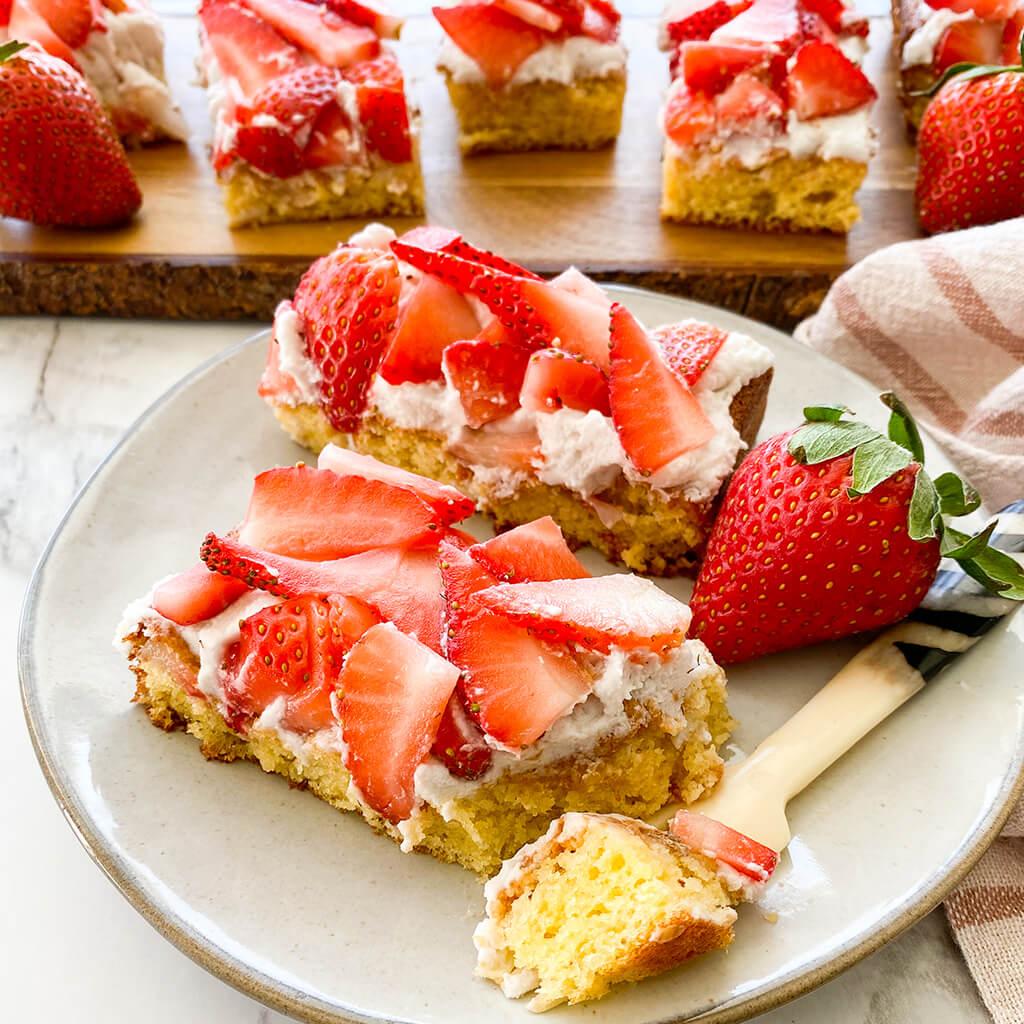 Gluten-Free Strawberry Shortcake